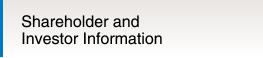 Shareholder and Investor Information